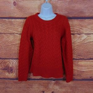 J.CREW womens sweater size medium chunky cable